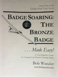 SSA Badge Soaring, The Bronze Badge by Wander