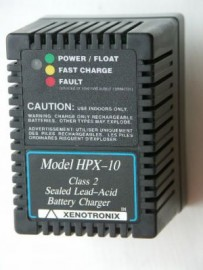 Battery charger for 6.5 -7 AH Starved electrolite batteries