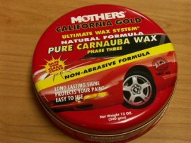 Mothers Gold Carnuba Wax